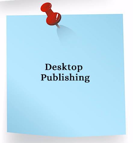 Desktop Publishing Services - brochures, business cards, envelopes, flyers, labels, letterhead, marketing materials, newsletters, postcards for Bergen County New Jersey businesses