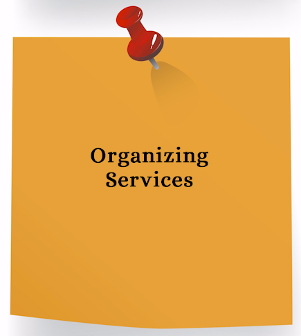 Organizing Services - create filing systems, desk and office supplies organization, paper management systems, space planning, small office - home office solutions for Bergen County New Jersey businesses