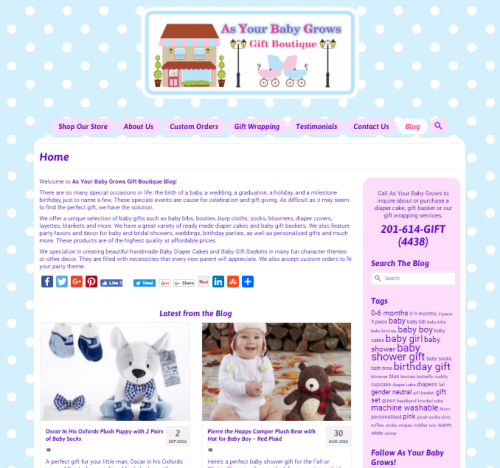 As Your Baby Grows Blog